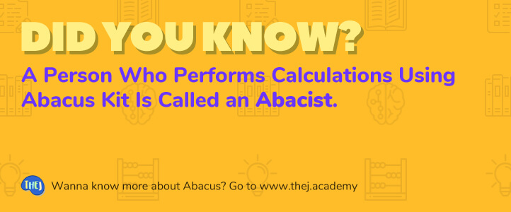 Did you Know? A Person Who Performs Calculations Using Abacus Kit Is Called an Abacist