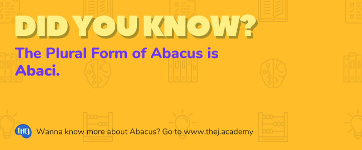 Did you Know? The Plural Form of Abacus is Abaci