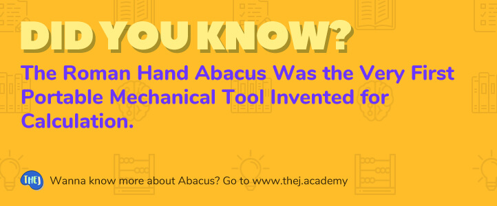 Did you Know? The Roman hand Abacus Was the Very First Portable Mechanical Tool Invented for Calculation