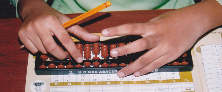 Abacus classes at Thej Academy - Thej Academy