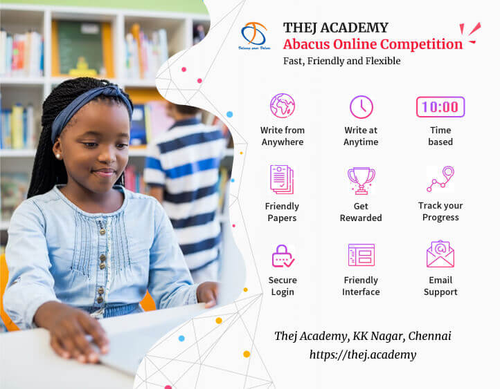Image of Why Thej Academy Abacus Online Competition is better