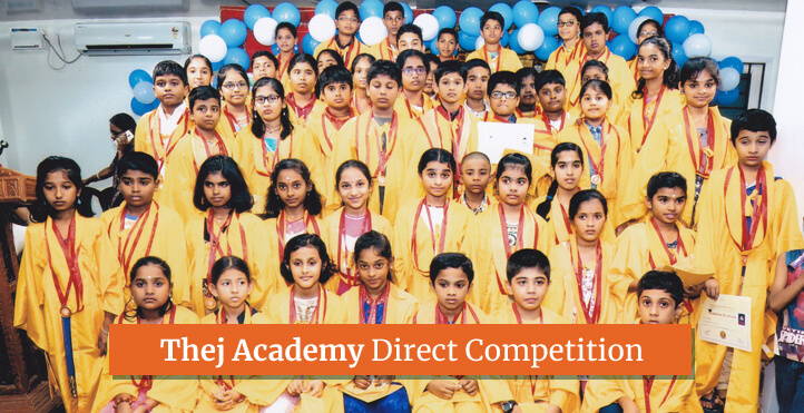 Image showing the winners of Direct competition from Thej Academy