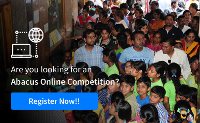 Abacus Online Competition Banner
