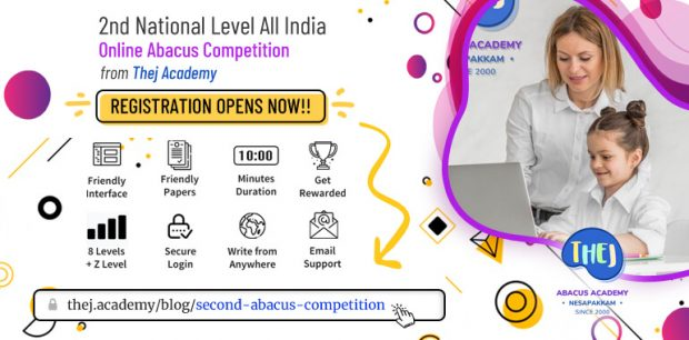 Second Abacus Competition