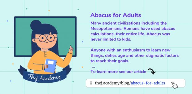Abacus for Adults - Thej Academy