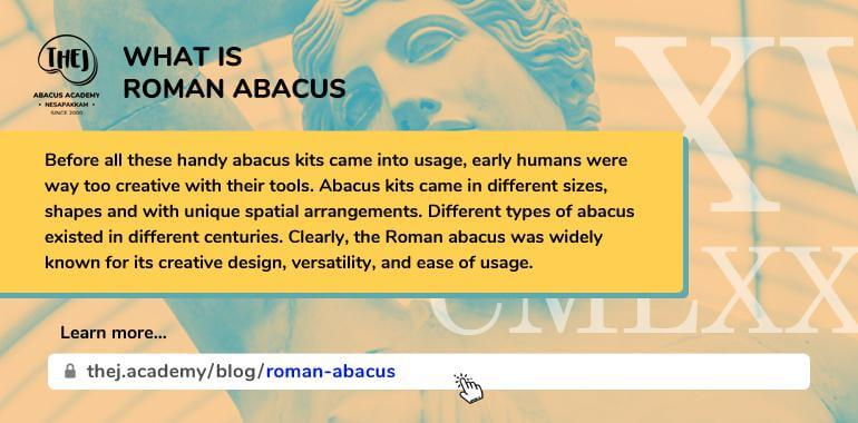 What is Roman Abacus - the.academy
