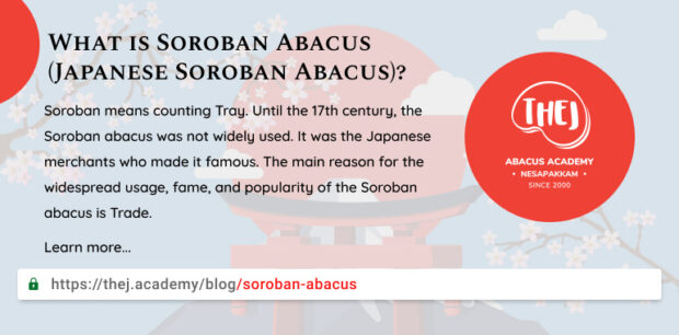 Featured image for What is Japanese Soroban Abacus